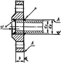 Конструкция и размеры фланцев ГОСТ 12820-80