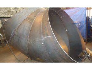 Отводы сварные 90 градусов 1020х12 сталь 20 ОСТ 36-21-77