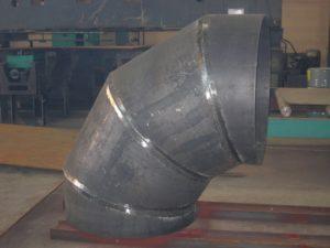 Отводы сварные 90 градусов 530х10 сталь 09Г2С ОСТ 36-21-77
