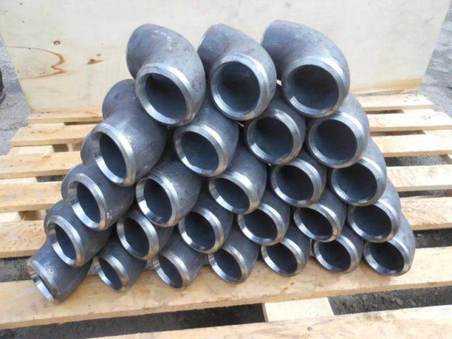 Отводы D 108 мм ГОСТ 30753-2001 бесшовные крутоизогнутые