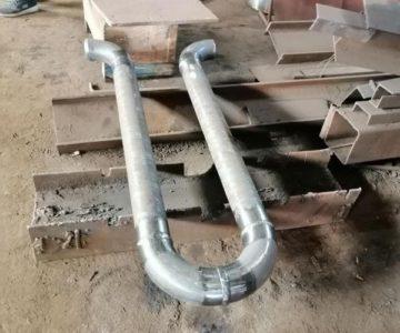 Отгрузка деталей трубопровода по чертежам заказчика