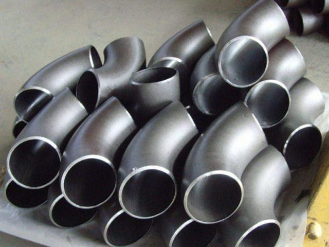 Отводы 133 мм крутоизогнутые нержавеющие ОСТ 34-10-418-90