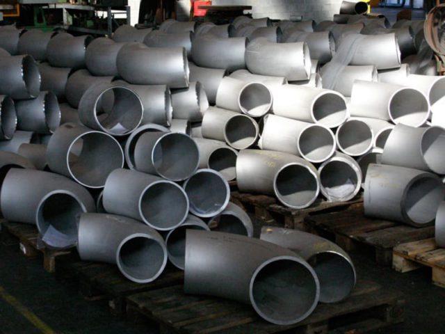Отводы 273 крутоизогнутые нержавеющие ОСТ 34-10-418-90