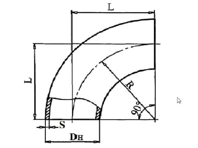 Схема и чертеж отводов ТУ 102-488